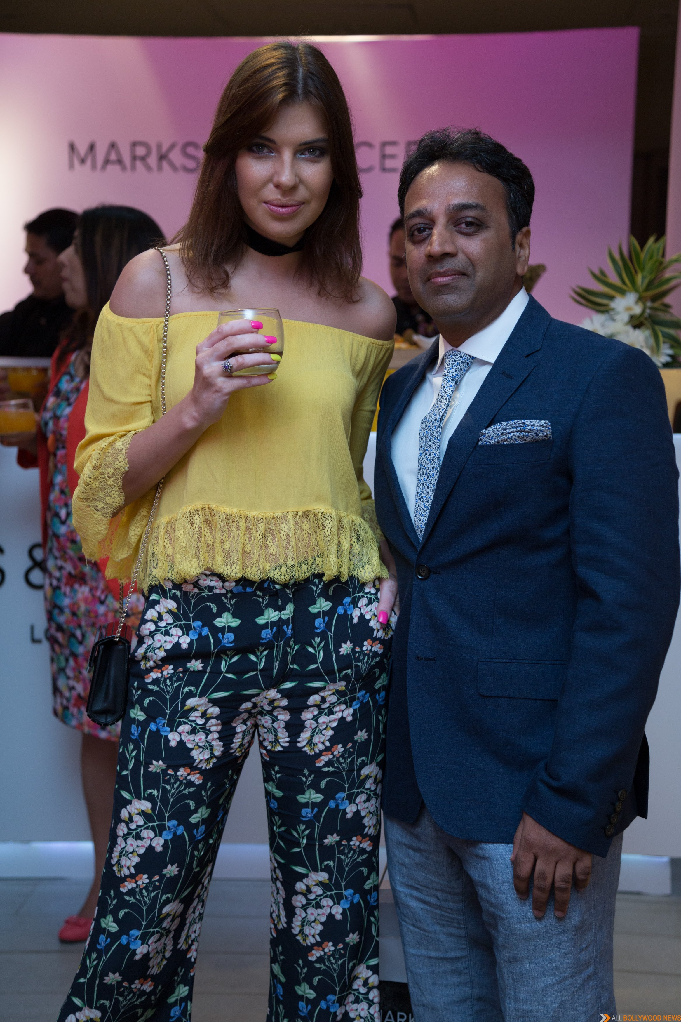 Aditi Rao Hydari At Marks And Spencer Autumn 16 Collection Launch At Mall  Of India, Noida - All Bollywood News